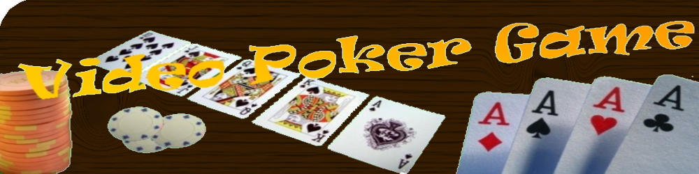 Logo Video Poker Game